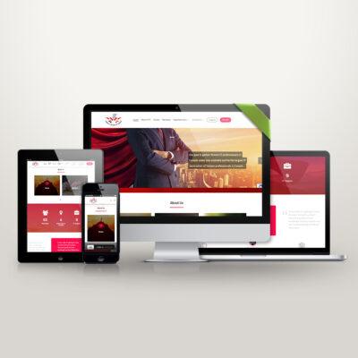 تصميم موقع الكتروني كنداء - افضل شركات تصميم مواقع ويب بي ديفرنت