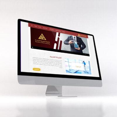 تصميم موقع الكتروني شركة العربية للمقاولات AUC - بي ديفرنت شركات تصميم مواقع ويب مقاولات